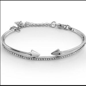 Swarovski crystal accent arrow bracelet